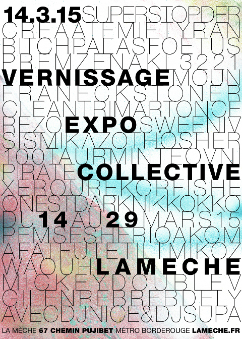 Affiche Expo 14.3.15 LOW