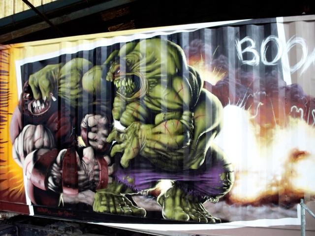 2008 Hulk vs Juggernaut