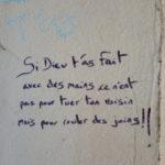 Message de la rue !!!
